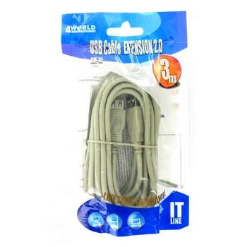 4World kábel USB 2.0 - 04681