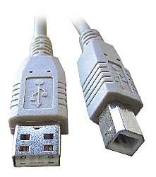 kábel USB 2.0 - SKKABUSB20A-B1.8M