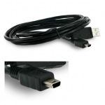 Obrázok produktu 4World kábel USB 2.0, A na mini B 5pin, 1,8m