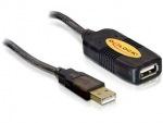 Obrázok produktu Delock kábel USB 2.0, predlžovací, aktívny, 5m