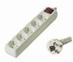 Obrázok produktu predlžovací kábel 230V, 5 zásuviek, + vypínač, 3m
