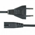 Obrázok produktu napájaci kábel 220 / 230V, 2 pin pre notebookový adaptér