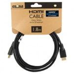 Obrázok produktu 4World kábel HDMI, (v1.4), 3D, 1,8m