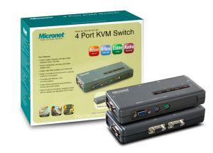 Micronet KVM prepínač - SP214EL