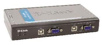 D-Link KVM prepínač - DKVM-4U