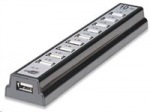 Obrázok produktu Manhattan rozbočovač USB 2.0, 10 porty