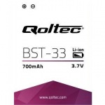 Obrázok produktu Qoltec Batéria pre Sony Ericsson BST-33, 1000mAh