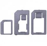 Obrázok produktu GT SIM adaptér 3v1 (nano-SIM, micro-SIM, SIM), čierny