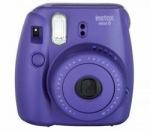 Obrázok produktu FUJIFILM Instax Mini 8 GRAPE - unikatny fotoaparat s tlacou fotografii