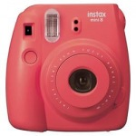 Obrázok produktu FUJIFILM Instax Mini 8 raspberry - unikatny fotoaparat s tlacou fotografii