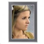Obrázok produktu Hama portrétový rám Philadelphia,  13x18 cm,  antracitový / strieborný