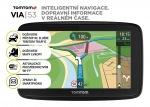 Obrázok produktu TomTom VIA 53 Europe,  Wi-Fi,  LIFETIME mapy