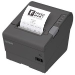 Obrázok produktu EPSON TM-T88V, čierna, USB+serial, so zdrojom