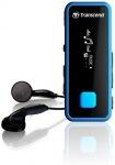 Obrázok produktu Transcend MP350 MP3 prehrávač, 8GB, modrý
