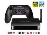 Obrázok produktu EVOLVEO Android Box H4 Plus,  multimediálne hráčske centrum s bezdrôtovým gamepadom