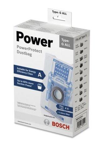 BOSCH_PowerProtect vrecko na prach a nečistoty: až o 60% väčší sací výkon - BBZ41FGALL