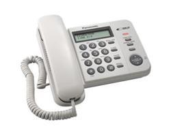 Panasonic KX-TS560FXW jednolinkovy telefon   - KX-TS560FXW