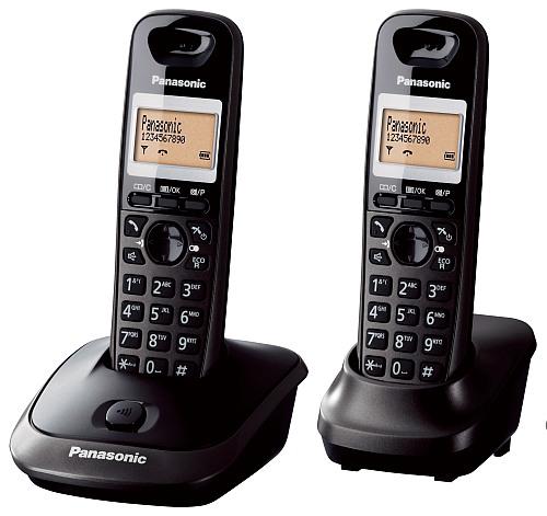 Panasonic KX-TG2512FXT telefon bezsnurovy DECT   - KX-TG2512FXT