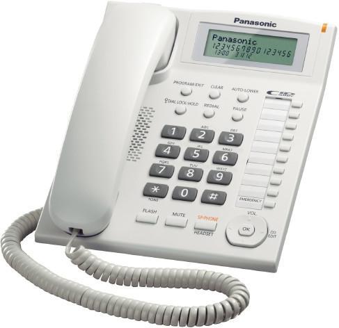 Panasonic KX-TS880FXW jednolinkovy telefon   - KX-TS880FXW