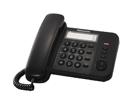 Panasonic KX-TS520FXBjednolinkovy telefon - čierny - KX-TS520FXB