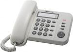 Obrázok produktu Panasonic KX-TS520FXW jednolinkovy telefon  /  biely