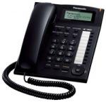 Obrázok produktu Panasonic KX-TS880FXB - komfortný stolový telefón s LCD,  s CLIPom a hlasitou prevádzkou S