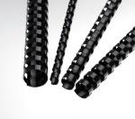 Obrázok produktu Plastové hřbety 10 mm,  černé