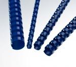 Obrázok produktu Plastové hřbety 12, 5 mm,  modré