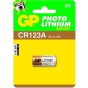 Baterie GP CR123A - 1ks - 1022000111