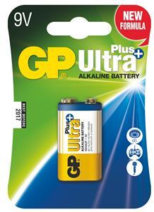 Alkalická baterie GP Ultra Plus 1x 6LF22 - 1017511000