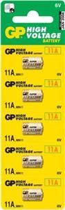 Alkalická Baterie GP 11A - 5ks - 1021001115