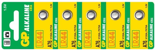 Alkalická Baterie GP A76 - 5ks - 1041007615
