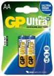 Obrázok produktu GP Ultra Plus batérie LR6 / AA, 1,5V, alkalické blister, 2x