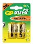 Obrázok produktu GP Ultra Plus batérie LR14 / AA, 1,5V, alkalické blister, 2x