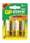 Obrázok produktu GP Ultra Plus batérie LR20, 1,5V, alkalické blister, 2x
