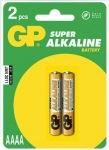 Obrázok produktu GP batérie LR61 / AAAA, 1,5V, alkalické blister, 2x