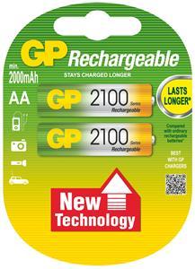 Nabíjecí baterie GP AA 2100 NiMH 2ks - 1032212070