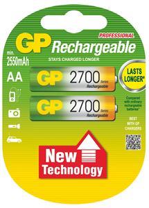 Nabíjecí baterie GP AA 2700 NiMH 2ks - 1032212130