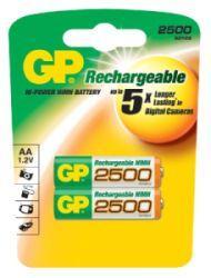Nabíjecí baterie GP AA 2500 NiMH 2ks - 1032212110