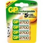 Obrázok produktu GP -  Nabíjacia batéria GP ReCyko+ 2700 mAh NiMH AA 4ks.