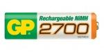 Obrázok produktu GP -  AA,  2700mAh,  NiMH tužková nabíjacia batéria,  blister balenie 2ks