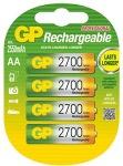 Obrázok produktu Nabíjecí baterie GP AA 2700 NiMH 4ks