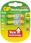 Obrázok produktu Nabíjecí baterie GP AA 2700 NiMH 2ks