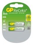 Obrázok produktu Nabíjecí baterie GP AAA Recyko+ 2ks