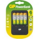 Obrázok produktu GP Nabíjačka GP PB570 + 4 x akumulátor GP 2700 mAh AA NiMH