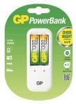 Obrázok produktu Nabíječka baterií GP 410+2xAA GP1300NiMH