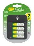 Obrázok produktu Nabíječka baterií GP PB550 + 4AA ReCyko