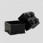 Obrázok produktu LEGO úložný box 250 x 250 x 180 mm - čierna