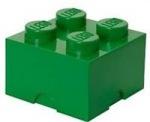 Obrázok produktu LEGO úložný box 250 x 250 x 180 mm - tmavo zelená