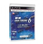 Obrázok produktu Gran Turismo 6 Live Card 2, 500, 000 Cr.